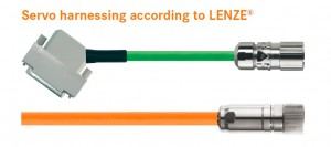 kabel harnessing LENZE